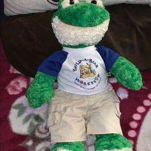 Build a Bear Friendly Frog